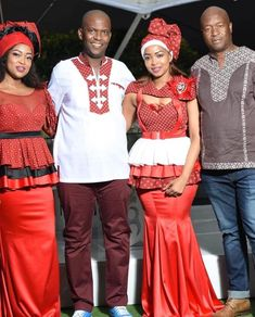 the best couples shweshwe dresses for We accept aggregate the ultimate account of couples analogous apparel account to advice booty your accord African Traditional Wear, African Traditional Wedding Dress, African Wedding Dress, African Weddings, African Wear, African Dress, African Fashion, Shweshwe Dresses, Ankara Styles