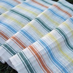 Hill House dish towels. Weavolution.com