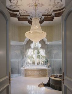 Dream big and buy an even bigger dream house…Our Motto: live luxury. be luxury… Dream Bathrooms, Beautiful Bathrooms, Luxury Bathrooms, Master Bathrooms, White Bathrooms, Master Baths, Luxury Life, Luxury Homes, Luxury Mansions