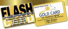 Do you have your Gold Card or FLASH Card yet? Think DISCOUNTS!
