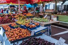 Frutas, Mercado De Agricultores