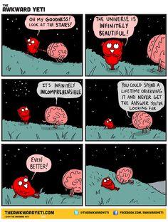 Check out the comic The Awkward Yeti :: Stars