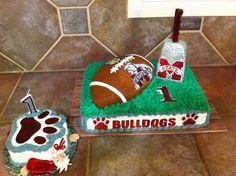 Mississippi State 1st Birthday cake