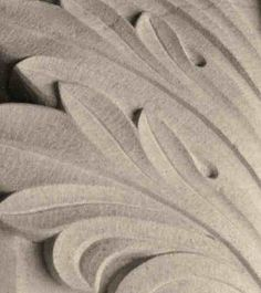 Carved Acanthus detail. http://sjcritchley.com