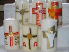 Rosis creative works Source by famangermeier Creative Words, Candle Making, Candle Sconces, Pillar Candles, It Works, How To Make, Easter Eggs, Creativity, Carved Candles