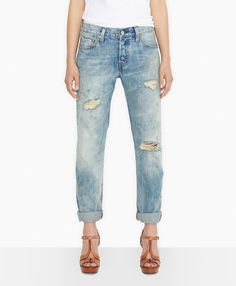 Levi's 501® Jeans for Women - Washed Up - Boyfriend, $88.