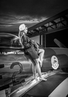 17 best pin up images p51 mustang pin up girls airplane. Black Bedroom Furniture Sets. Home Design Ideas