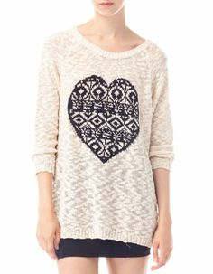 Jersey punto jacquard What A Girl Wants, Knitting, Sweaters, How To Wear, Dresses, Winter, Style, Hair, Fashion