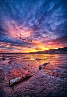 Medano Creek Great Sand Dunes, CO