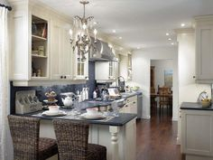 Breakfast for Two - Kitchen Design: 10 Great Floor Plans on HGTV