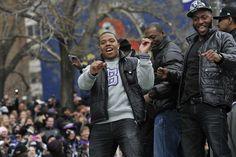 Super Bowl Ravens Celebration Football - Ray Rice | Photos | NFL.com