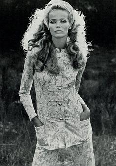 Veruschka - 1968 UK Vogue