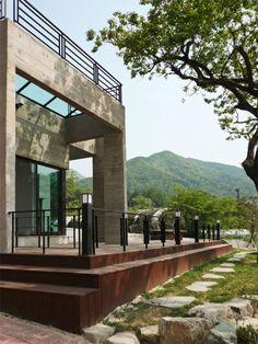 Residence located in Buk-gu, Gwangju, South Korea by Studio Gaon.