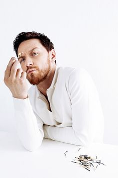 James McAvoy photographed by Jake Walters (April 2013)
