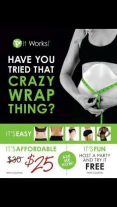 cgabriel.myitworks.com have you tried this crazy wraps yet? Seriously you are missing out! Pick 4 up today on my website for only $59!