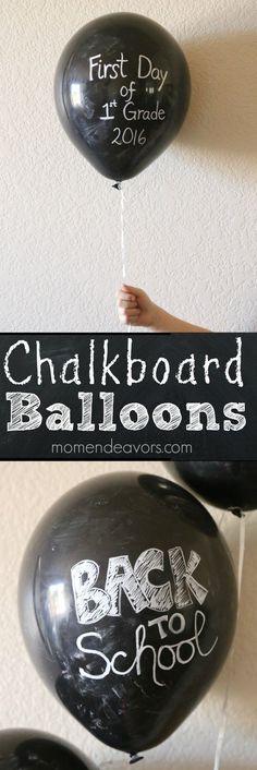 DIY Chalkboard Ballo