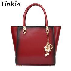 5ee7f02d00b Tinkin New Arrival Smoky Makeup Women Handbag Medium Size Shoulder Bag Pu Leather  Messenger Bag Beautifull