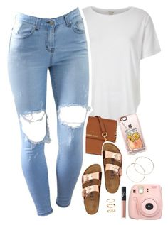 """""""something newwwww - queen z """" by daisym0nste ❤ liked on Polyvore featuring River Island, MICHAEL Michael Kors, TravelSmith, Casetify, Jennifer Creel, NARS Cosmetics, Fujifilm and H&M"""