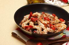 Receita de Gambas com alho. Descubra como cozinhar Gambas com alho de maneira prática e deliciosa com a Teleculinaria!