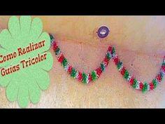 Manualidad  de Campanas Tricolor - YouTube