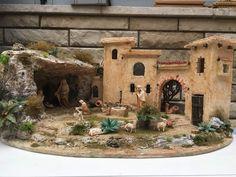 Diy Nativity, Christmas Nativity Scene, Nativity Scenes, Christmas Activities, Christmas Projects, Stone Texture, Christmas Pictures, Diorama, Scenery