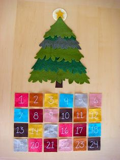 I like this tree design for my advent. Her ornaments are amazing as well