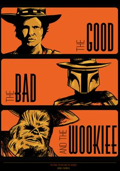 """The good, the bad an the wookiee"", por adamworks."