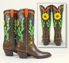 649e6173ab6 22 Best Richard Cook custom cowboy boots images in 2019 | Custom ...