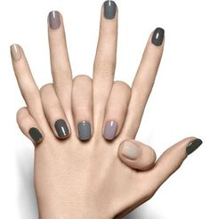 Neutral nails are so versatile.