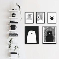 Animal Nursery Prints, Instant Download Nursery Art, Printable Nursery, Download Art, Kids Prints, Animal Prints, Kids Art, Neutral Nursery, Digital Printable, Illustrated Art Print … #sun #Terracotta Art, #Abstract #Art #Boho #Brown  #Century #Digital #DigitalArt #Download #Gallery #Geometric #Mid #Modern #Neutral #Print #Rainbow #Set #sun #Terracotta #Wall #animal #animalprints #kidsart #blackandwhite #childrensart Large Canvas Art, Canvas Art Prints, Kids Prints, Nursery Canvas Art, Nursery Prints, Images Murales, Black And White Cartoon, Black White, Name Wall Decor