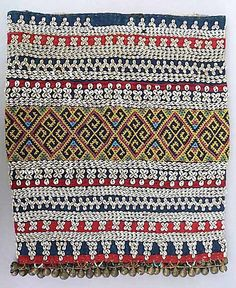 Borneo Bead Skirt by brigittepicart, via Flickr