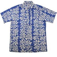 septis | Rakuten Global Market: Hawaiian shirt) TAH GARDENIA BLUE made in REYN SPOONER( レインスプーナー )S/S B/D P/O ALOHA SHIRTS( short sleeves pullover Hawaii