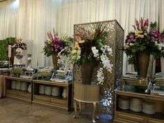 Buffet . . with spesial   display