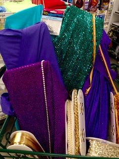 Making our Shimmer and Shine costumes!!!