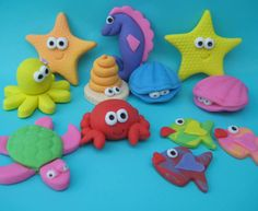 Sea Creatures Set Playroom Addition❤