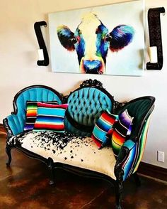 Saving just for the cow painting