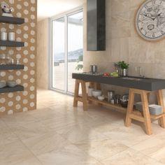 Diana F+ Honeycomb, más hexágonos | Cultura decó Lesnaya-SP Beige 20x17,5cm. | Pavimento #Porcelánico | VIVES Azulejos y Gres S.A. #honeycomb #hexagon