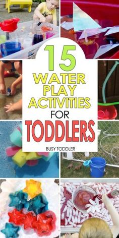 summer activities for toddlers 50 awesome outdoor activitiies for toddlers and preschoolers outdoor art activities messy sensory activities water play activities - The world's most private search engine Water Play Activities, Outdoor Activities For Toddlers, Babysitting Activities, Summer Activities For Kids, Infant Activities, Summer Kids, Sensory Activities, Water Games, Indoor Activities