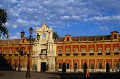 The Palace of San Telmo, Andalucia