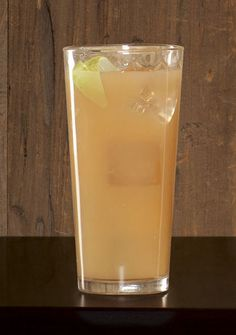 Back Yard Tea - 2 parts Sailor Jerry, 1 part iced tea, 2 parts lemonade