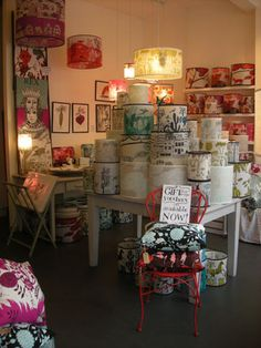 I love everything that Lush designs in Greenwich sells. They have a website www.lushlampshades.co.uk and also sell in various shops across the country, uncluding indica in Guernsey!