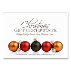 Gift Certificate Template All Text Can Be Customized A Business