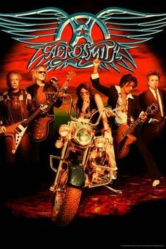 This is an original aerosmith poster hand signed by steven tyler, joe perry, tom hamilton, brad whitford, joey kramer. Rock Roll, Rock & Pop, 80s Rock Bands, Rock And Roll Bands, Bruce Dickinson, Great Bands, Cool Bands, Rock Band Posters, Steven Tyler Aerosmith