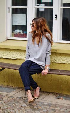 home - Maja Wyh Look Fashion, Fashion Beauty, Autumn Fashion, Casual Chic, Capsule Wardrobe, Moda Paris, Business Outfit, Mode Inspiration, Facon