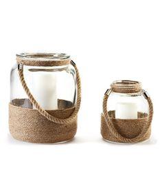DIY inspiration-Rope Candleholder