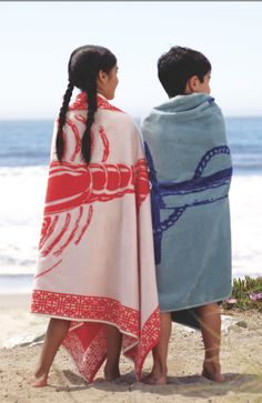Get in the mood for summer with this fresh, nautical towel at Cost Plus World Market.