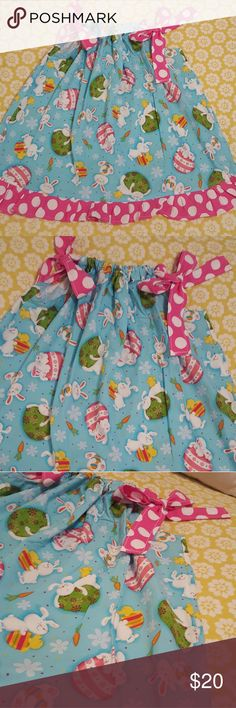 Boutique Easter/spring dress size 6t Super adorable spring/Easter dress like new boutique Dresses Casual