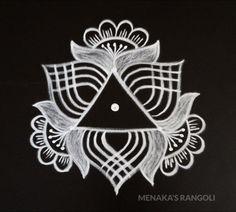 Source by menakasrangoli Indian Rangoli Designs, Rangoli Designs Latest, Rangoli Designs Flower, Rangoli Patterns, Rangoli Border Designs, Simple Art Designs, Simple Rangoli Designs Images, Rangoli Designs With Dots, Beautiful Rangoli Designs