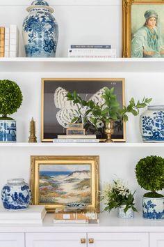 shelf style in the office