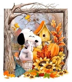Snoopy Love, Snoopy And Woodstock, Happy Snoopy, Charlie Brown Christmas, Charlie Brown And Snoopy, Peanuts Cartoon, Peanuts Snoopy, Snoopy Halloween, Fall Halloween